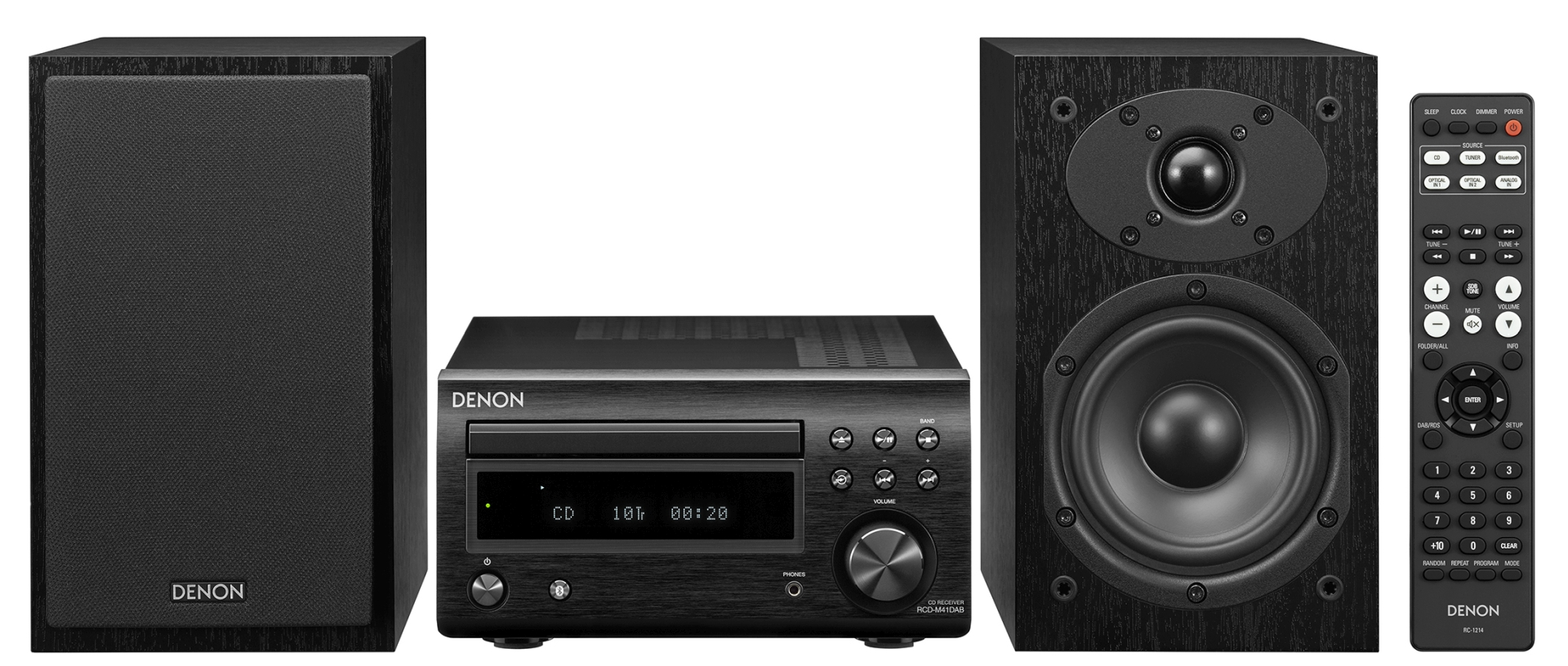 Denon D M41 Zestaw Stereo Z Bluetooth