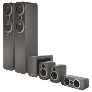 Q ACOUSTICS QA 3050i/3010i/3090Ci/3060S / Zestaw kolumn do kina 5.1