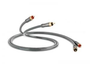 QED PERFORMANCE AUDIO 40i  (QE6111) (0.6m)  Stereo cable [2x RCA M - 2x RCA M]