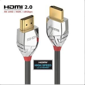Lindy 37873 Kabel HDMI 2.0 4K UHD High Speed Cromo Line - 3m